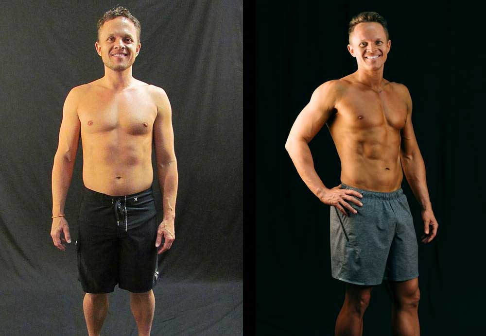 Chris F. Lowered body fat % in 8 weeks